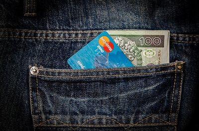 Abbuchung von Kreditkarte