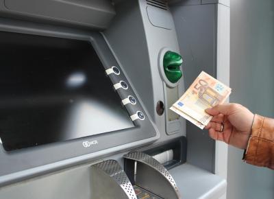 Geld abheben Automaten