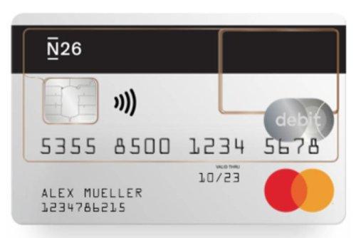 N26 Kreditkarte Empfehlung Test