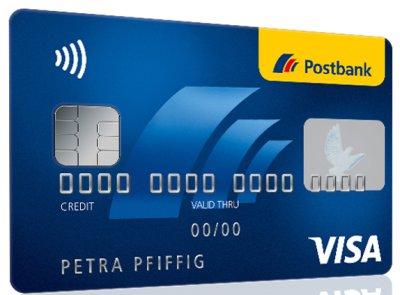 Postbank Kreditkarte Visa