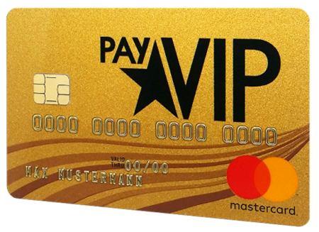 payvip kreditkarte zum aufladen